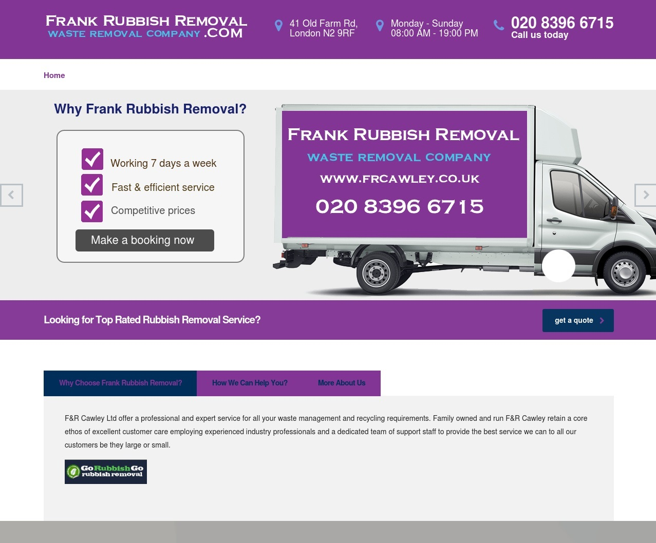 Frank Rubbish Removal